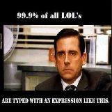 99.9% of Steve Carell's LOL's