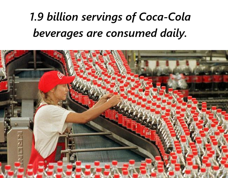 1.9 Billion Servings of Coca-Cola Products Consumed Daily