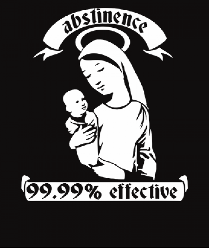 Abstinence is Effective 99.99% of the Time