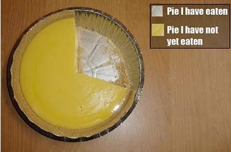 Pie I have Eaten Pie Chart