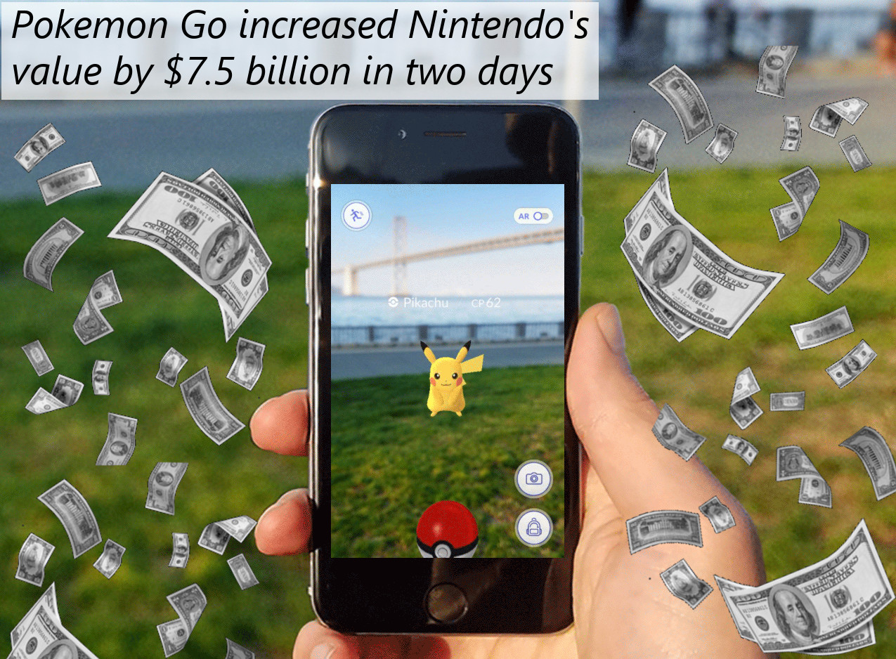 Pokemon Go made Nintendo billions