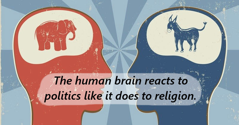STUDY: Political Beliefs Are Similar To Religious Beliefs