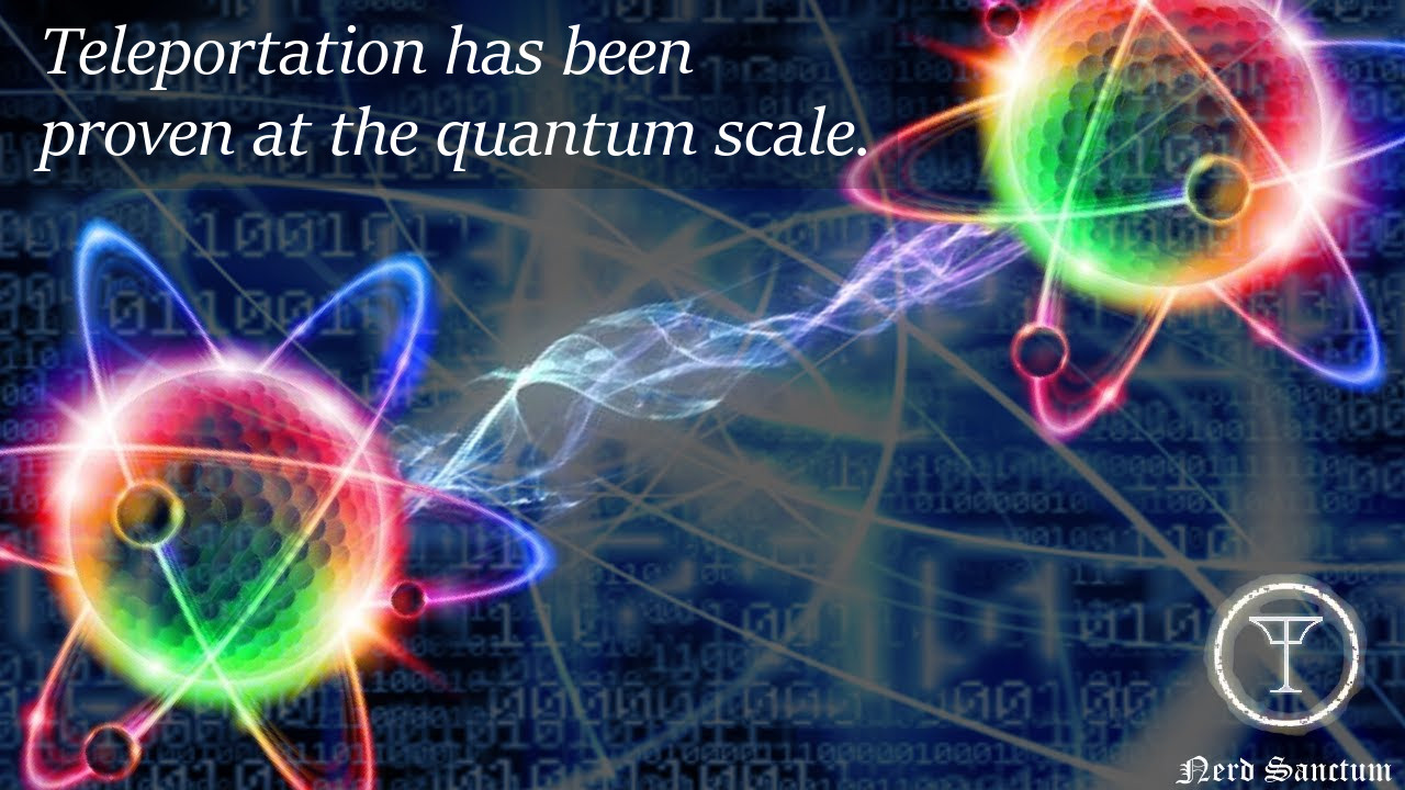 Teleportation is Science Fact