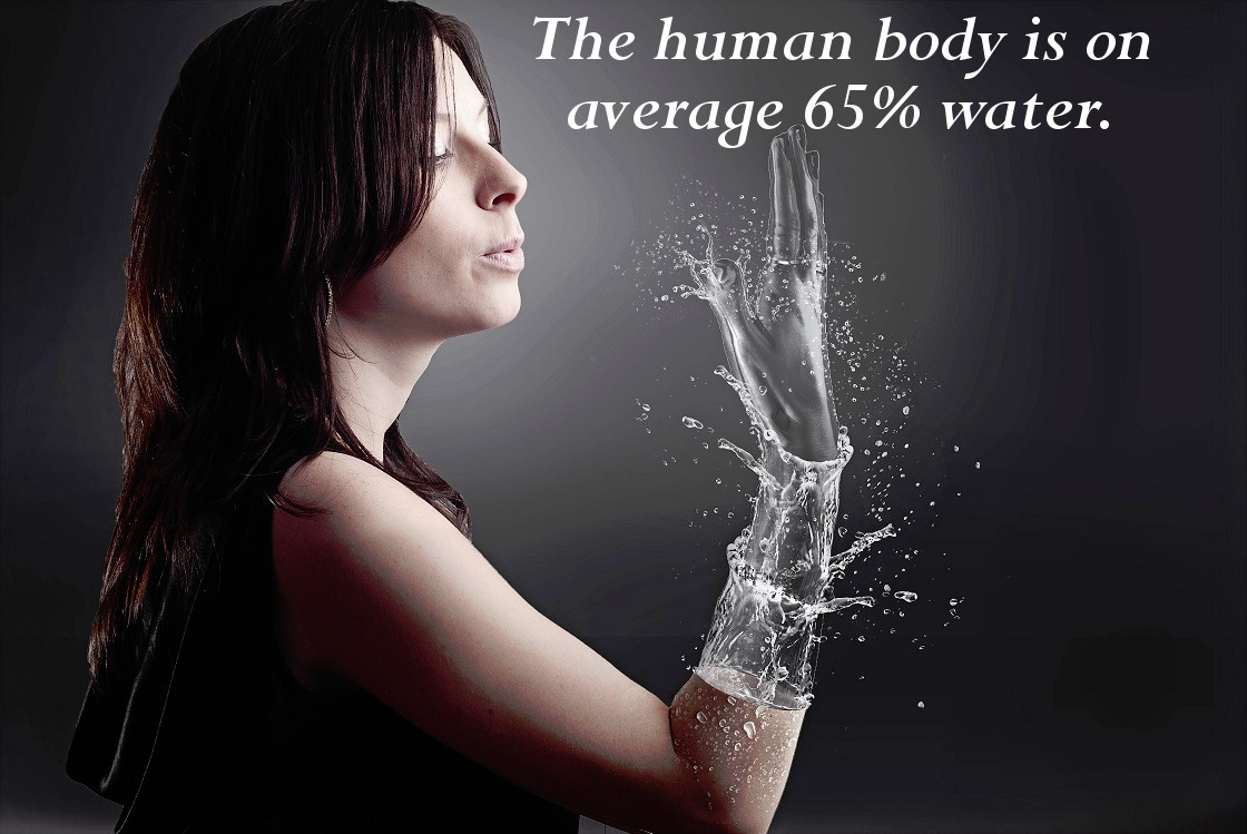 The Human Body is Mostly Water